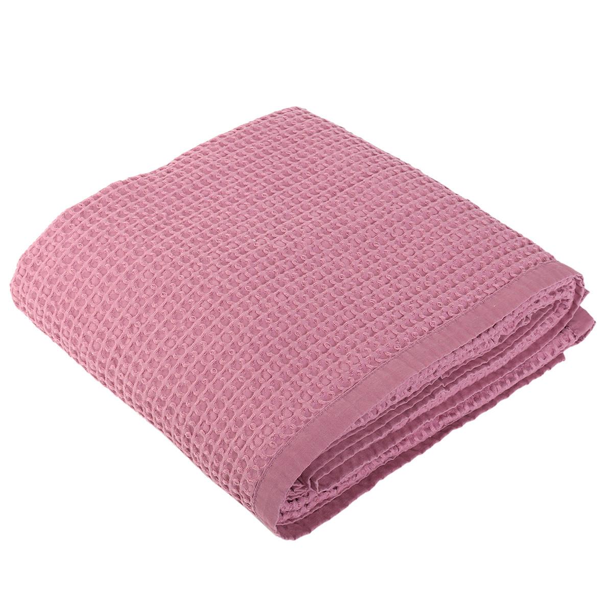 Κουβέρτα Πικέ Μονή Nef-Nef New Golf Violet