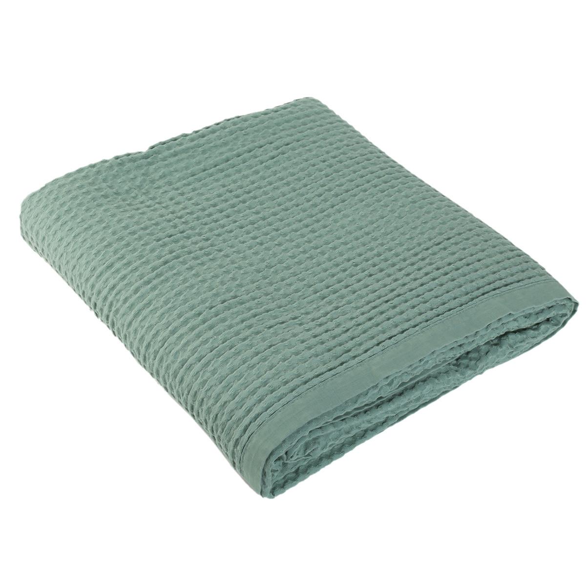Κουβέρτα Πικέ Μονή Nef-Nef New Golf Dark Mint home   παιδικά   κουβέρτες παιδικές   κουβέρτες καλοκαιρινές