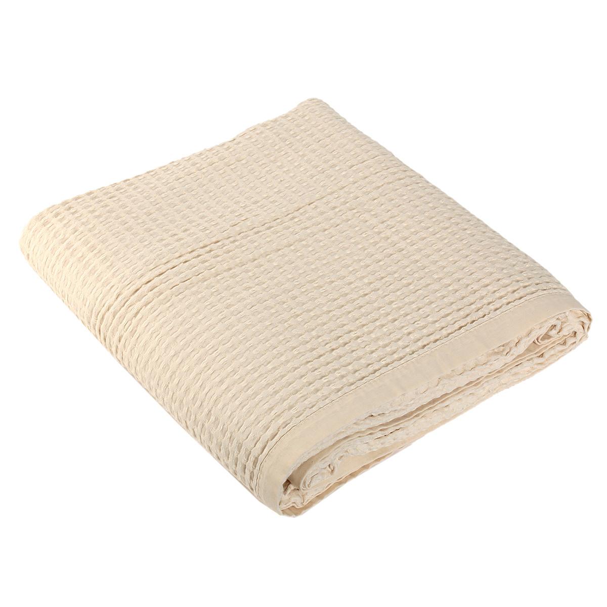 Κουβέρτα Πικέ Μονή Nef-Nef New Golf Ecru