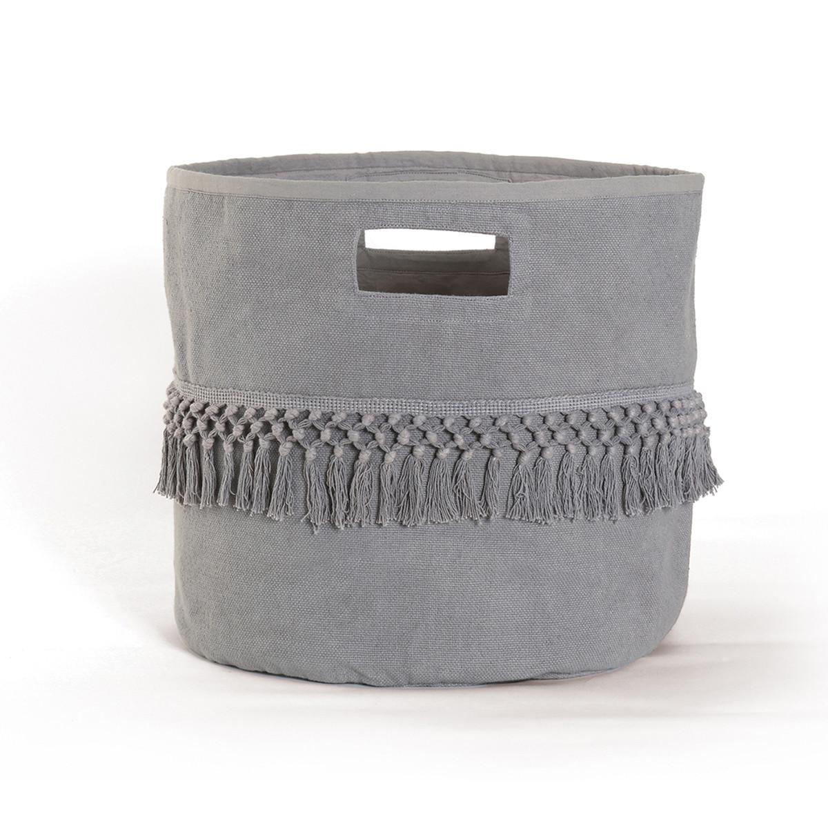 Καλάθι Αποθήκευσης Nef-Nef Rikkas Grey home   διακόσμηση   κουτιά αποθήκευσης   καλάθια