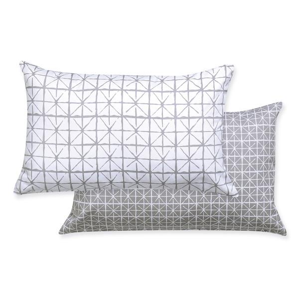 Διακοσμητικό Μαξιλάρι 2 Όψεων (33x55) Nef-Nef Astra Grey