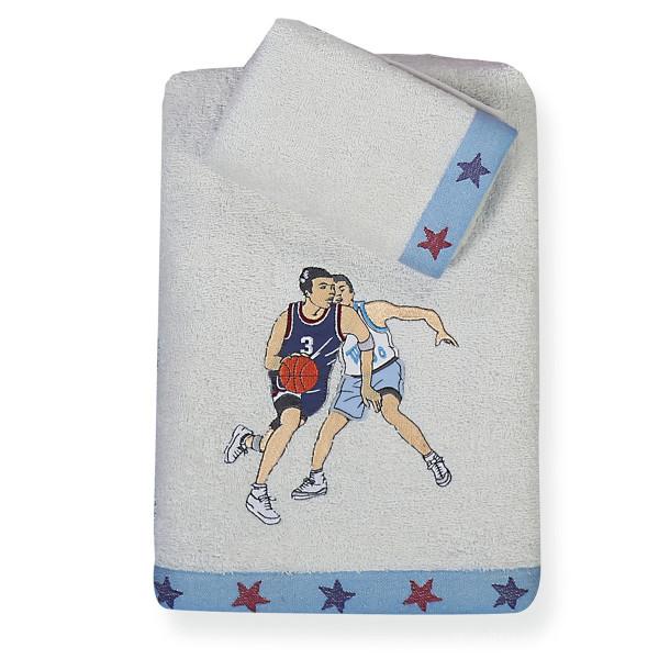 Παιδικές Πετσέτες (Σετ 2τμχ) Nef-Nef Junior Basketball