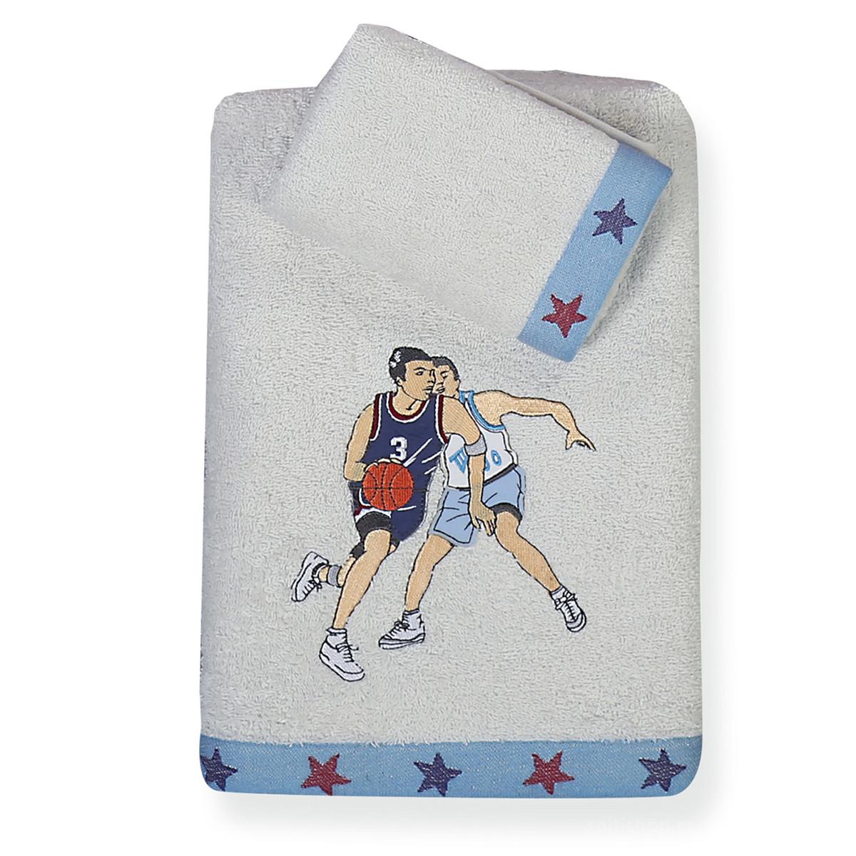 Παιδικές Πετσέτες (Σετ 2τμχ) Nef-Nef Junior Basketball home   παιδικά   πετσέτες παιδικές