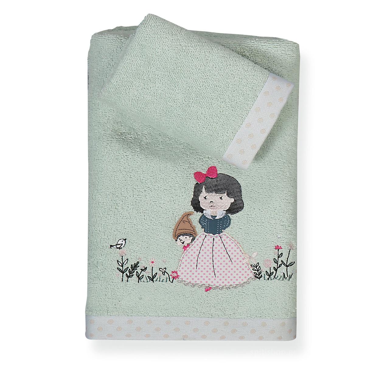 Παιδικές Πετσέτες (Σετ 2τμχ) Nef-Nef Junior Snow White home   παιδικά   πετσέτες παιδικές