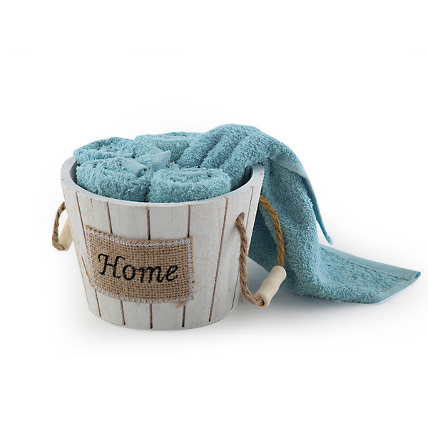 Πετσέτες Δώρου (Σετ 5τμχ) Nef-Nef Home Στρογγυλό Aqua