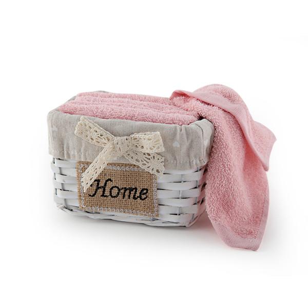 Πετσέτες Δώρου (Σετ 5τμχ) Nef-Nef Home Τετράγωνο Eng.Rose