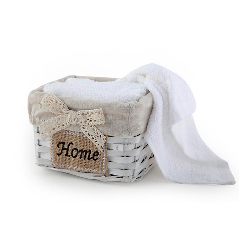 Πετσέτες Δώρου (Σετ 5τμχ) Nef-Nef Home Τετράγωνο White