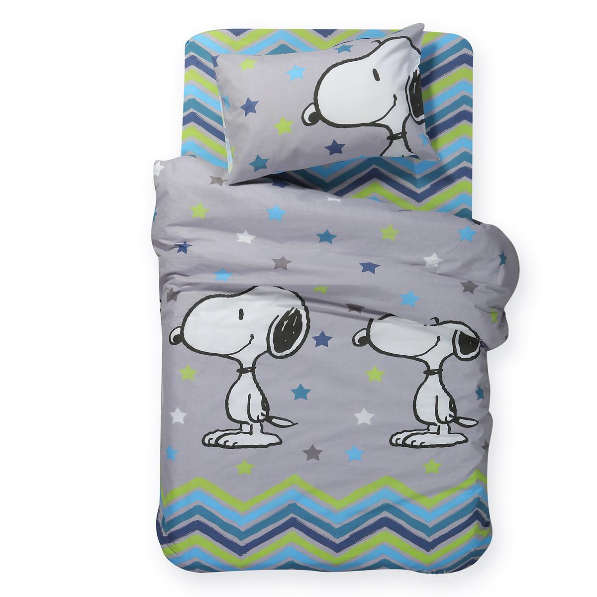 Πάπλωμα Μονό Nef-Nef Junior Snoopy Mood