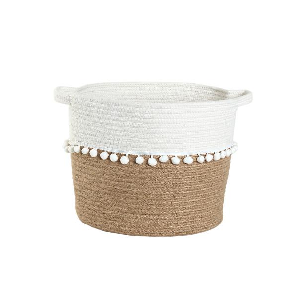 Καλάθι Αποθήκευσης (30x28) Nef-Nef Soho Cream
