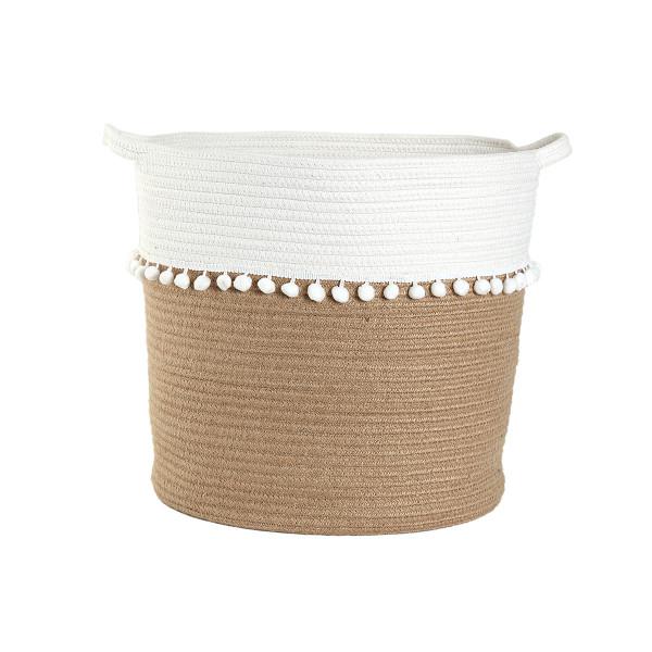 Καλάθι Αποθήκευσης (37x35) Nef-Nef Soho Cream