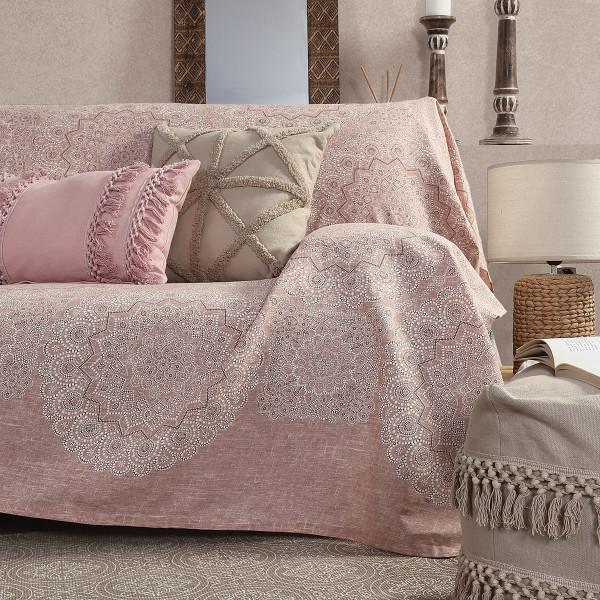 Ριχτάρι/Κουβερτόριο (250x250) Nef-Nef Bed&Sofa Dantelle Terra