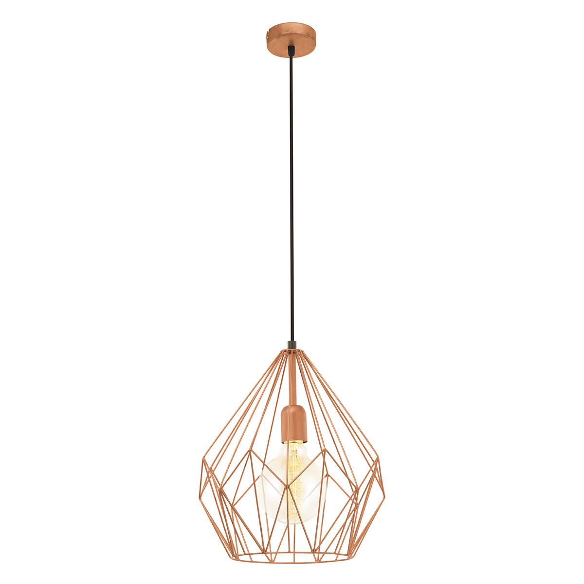 Φωτιστικό Οροφής Μονόφωτο Eglo Carlton 49258