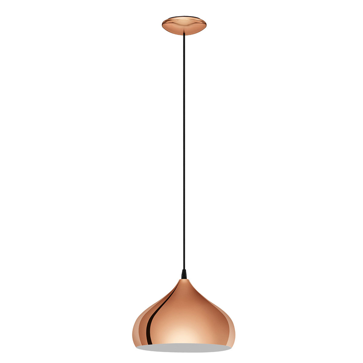 Φωτιστικό Οροφής Μονόφωτο Eglo Hapton 49449