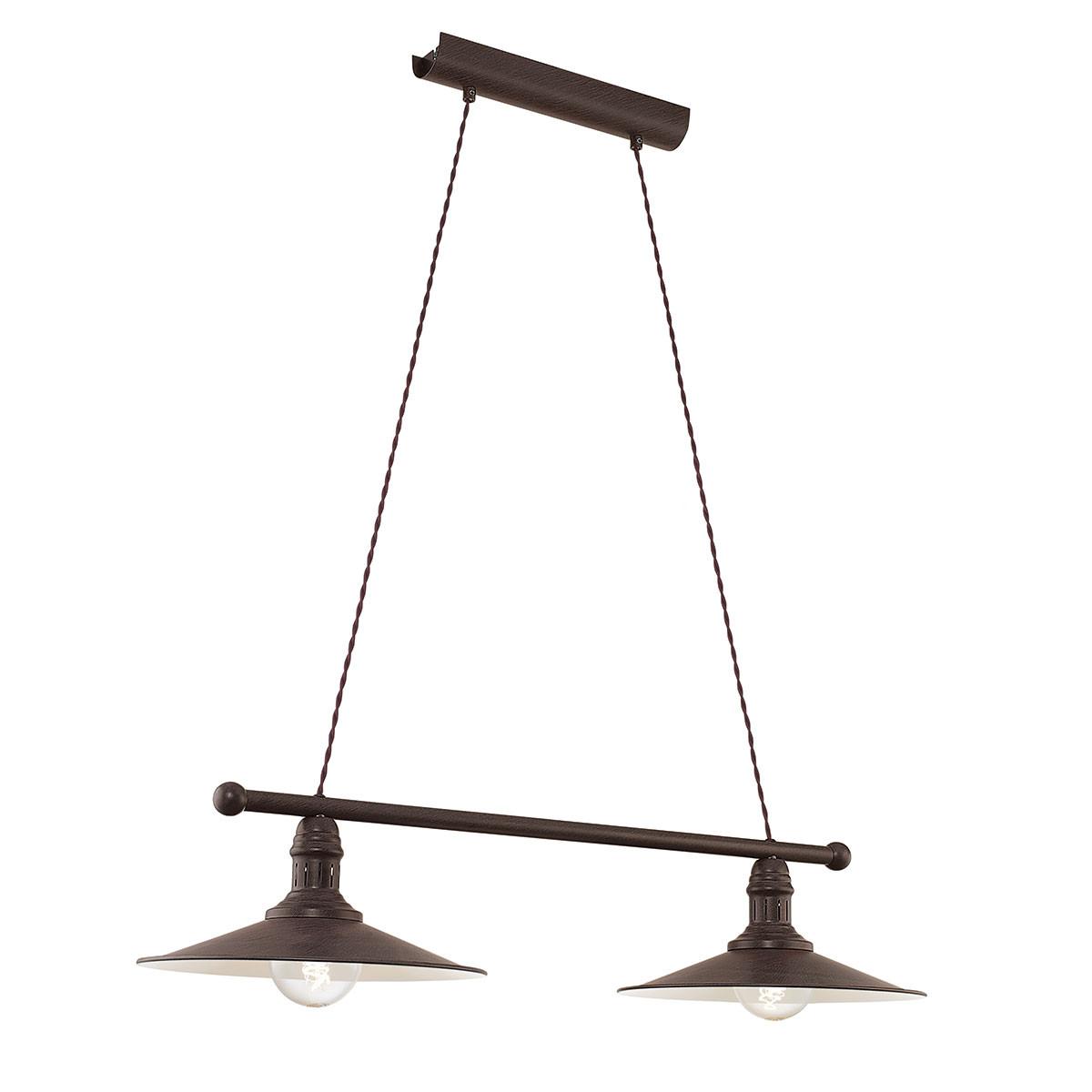 Φωτιστικό Οροφής Δίφωτο Eglo Stockbury 49457