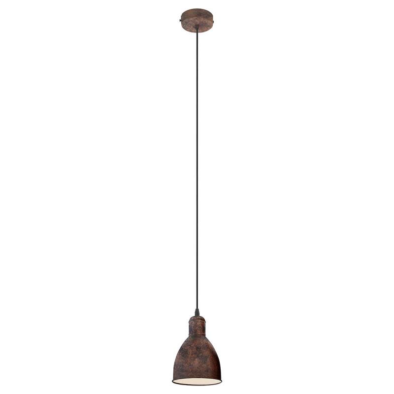 Φωτιστικό Οροφής Μονόφωτο Eglo Priddy 1 49492