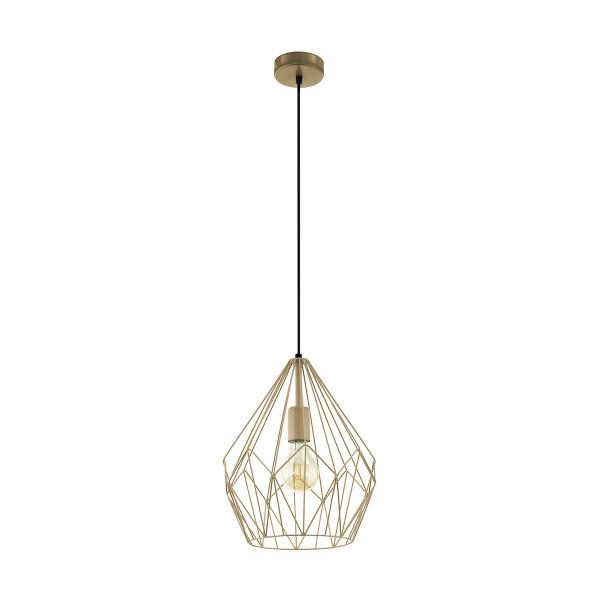 Φωτιστικό Οροφής Μονόφωτο Eglo Carlton 49934