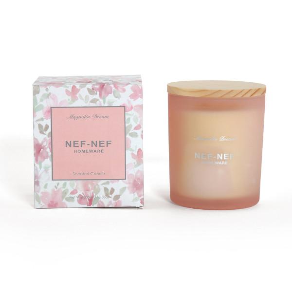 Αρωματικό Κερί 300gr Nef-Nef Magnolia