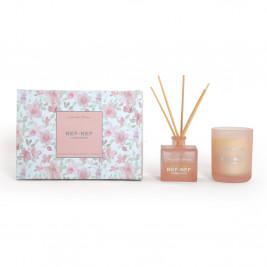 Αρωματικό Χώρου Με Στικς + Αρωματικό Κερί Nef-Nef Magnolia