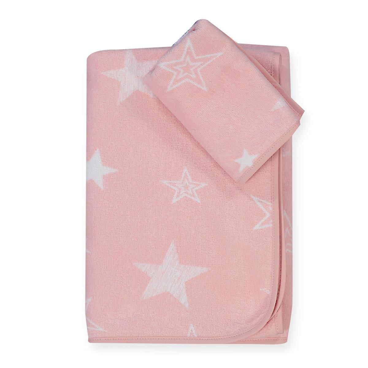 Βρεφικές Πετσέτες (Σετ 2τμχ) Nef-Nef Moon Pink