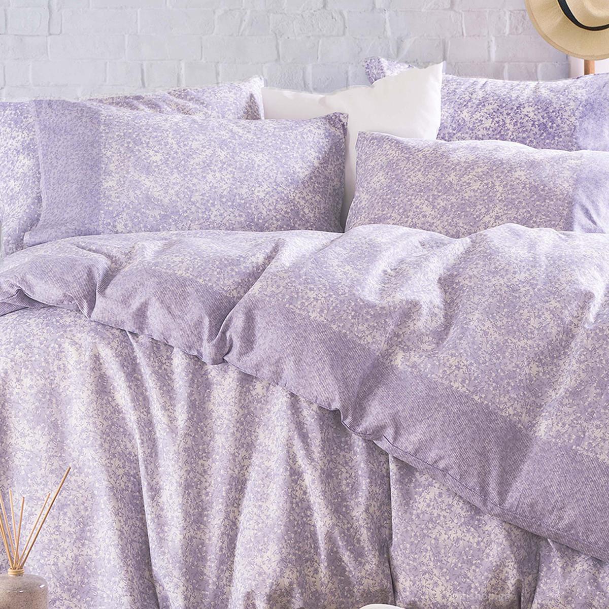 Ζεύγος Μαξιλαροθήκες Rythmos Next Caressa Purple