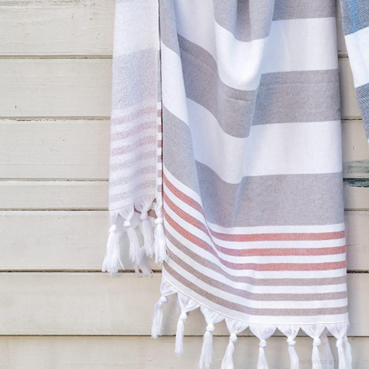 Πετσέτα Θαλάσσης - Παρεό Kentia Limnos home   θαλάσσης   πετσέτες θαλάσσης ενηλίκων