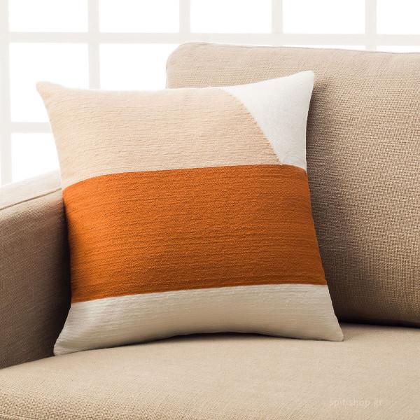 Διακοσμητική Μαξιλαροθήκη (43x43) Gofis Home Emery Orange 295/03