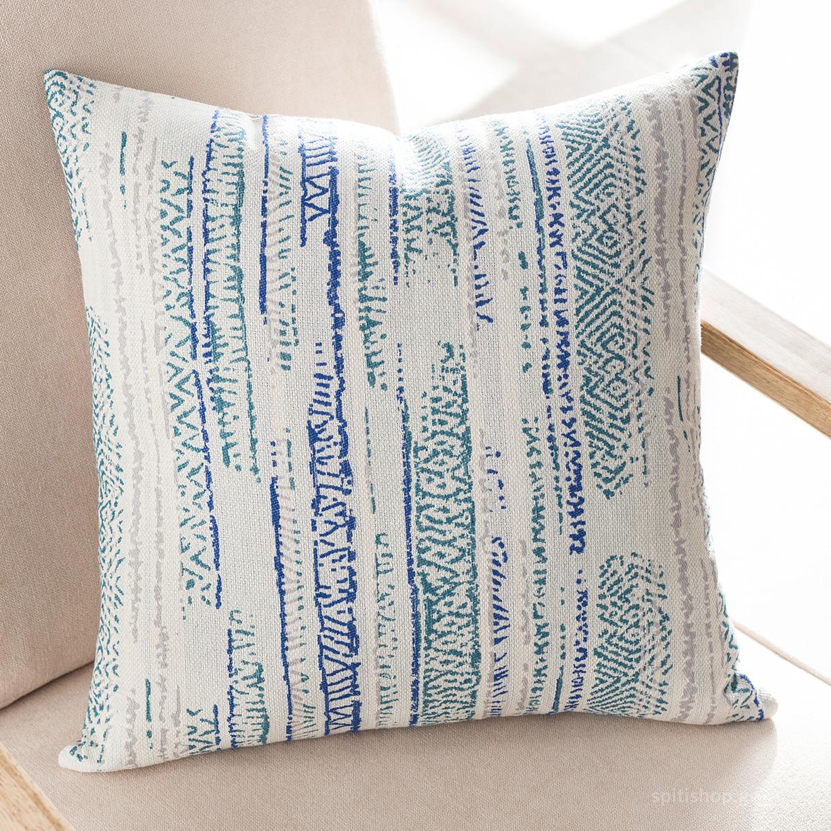 Διακοσμητική Μαξιλαροθήκη (50×50) Gofis Home Flair Blue 857/01