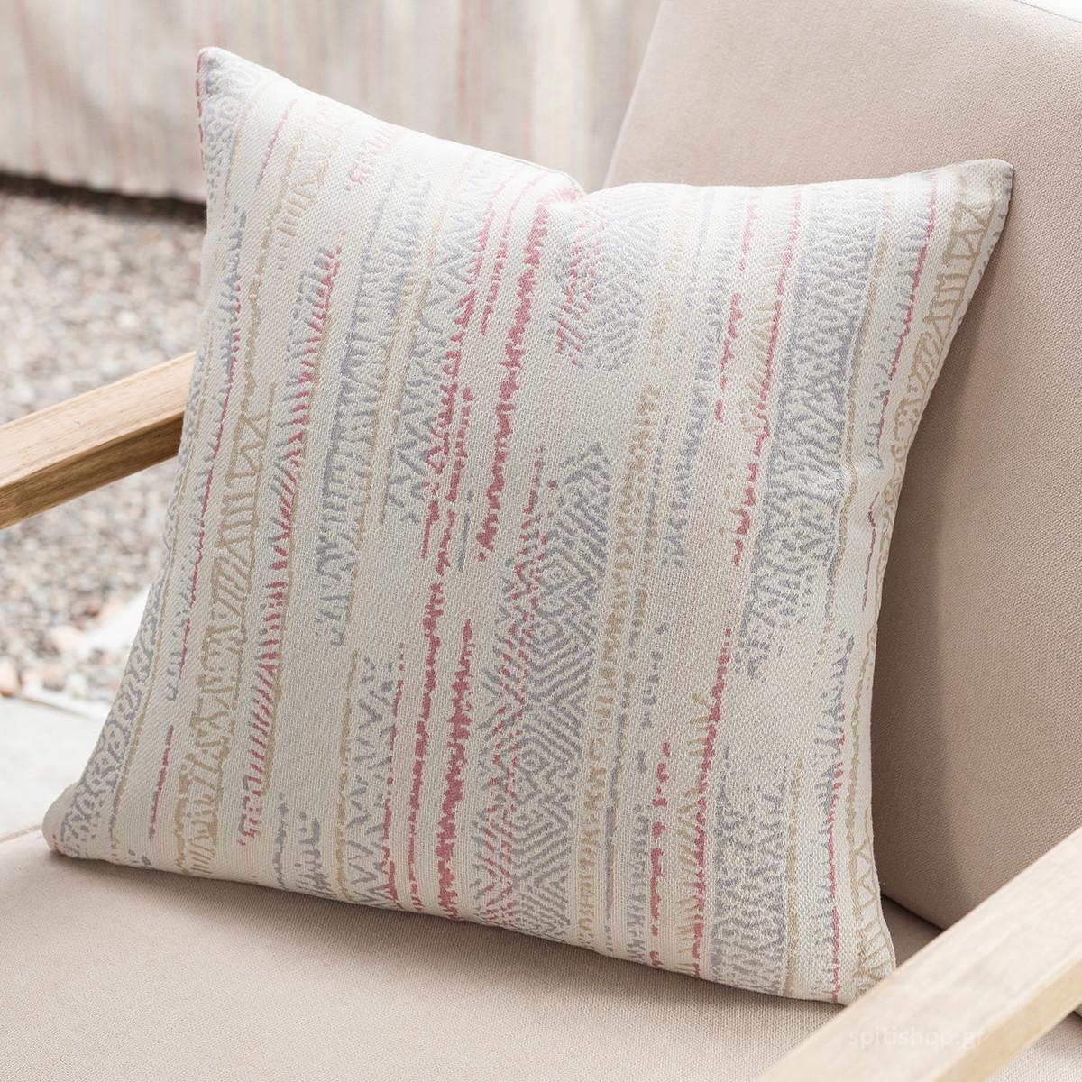 Διακοσμητική Μαξιλαροθήκη (50×50) Gofis Home Flair PinkGrey 857/17