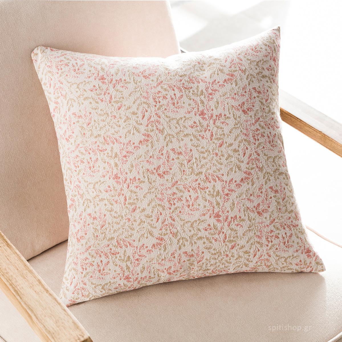 Διακοσμητική Μαξιλαροθήκη (50×50) Gofis Home Delicate Coord Pink 904B/03