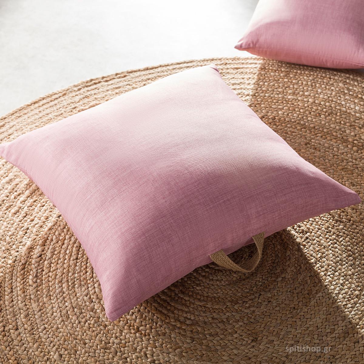 Θήκη Μαξιλάρας (65×65) Gofis Home Chrome Pink 930A/17