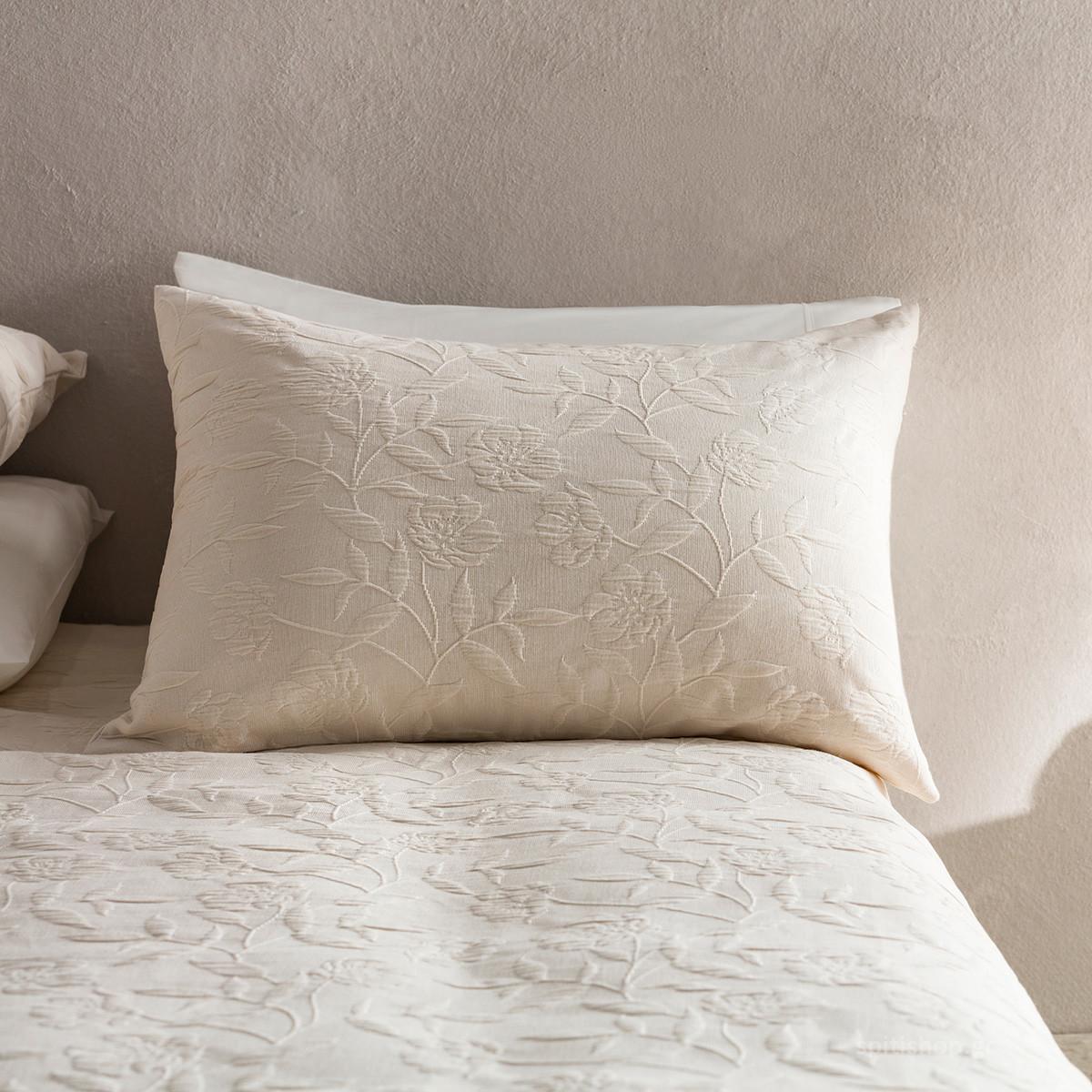 Μαξιλαροθήκη Ύπνου Gofis Home Laurele Natural 978/05