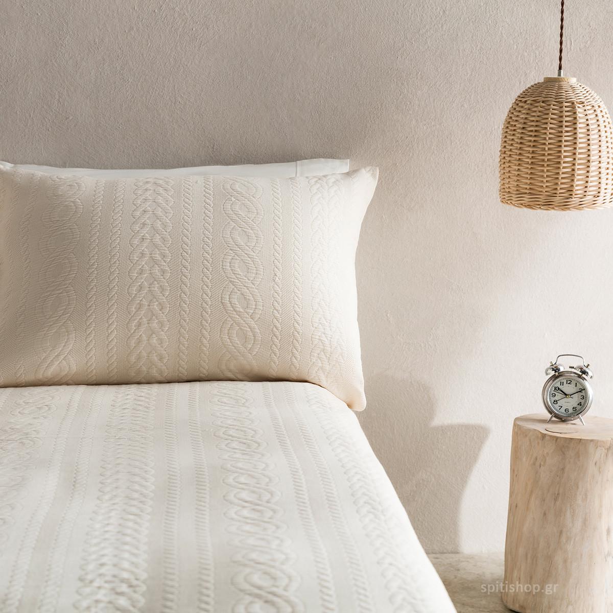 Μαξιλαροθήκη Ύπνου Gofis Home Meche Natural 989/05