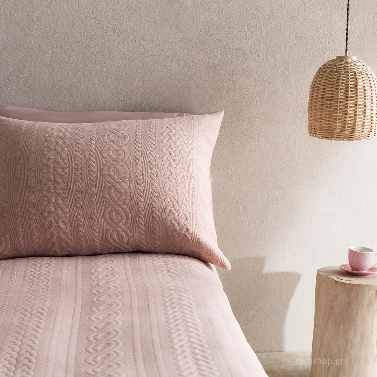 Μαξιλαροθήκη Ύπνου Gofis Home Meche Pink 989/17