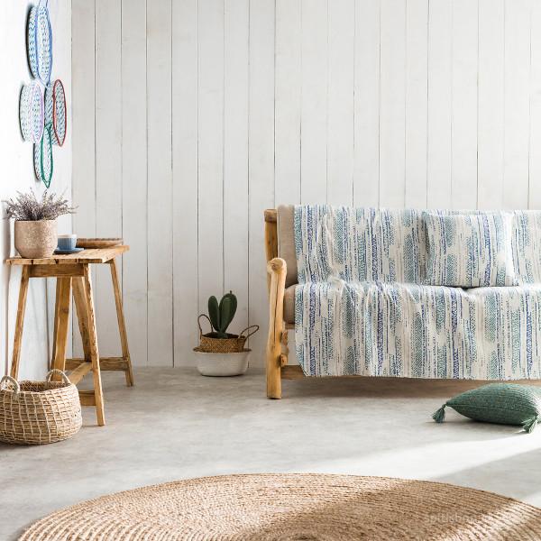 Ριχτάρι Τριθέσιου (180x310) Gofis Home Flair Blue 857/01