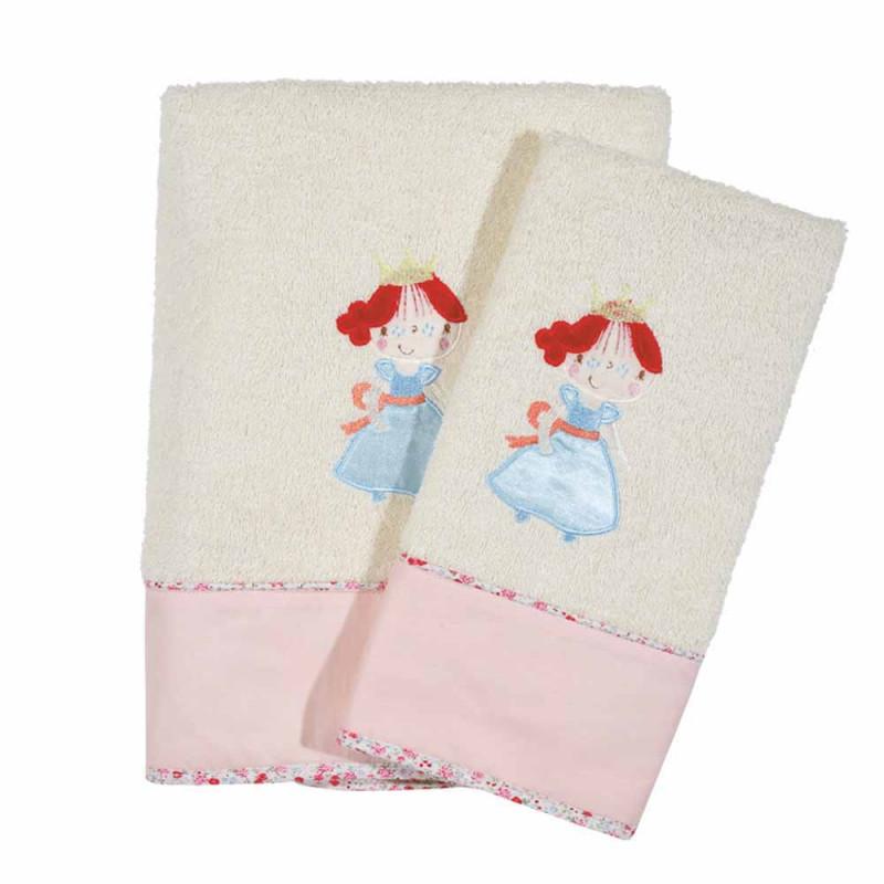 Παιδικές Πετσέτες (Σετ 2τμχ) Das Home Smile 6511