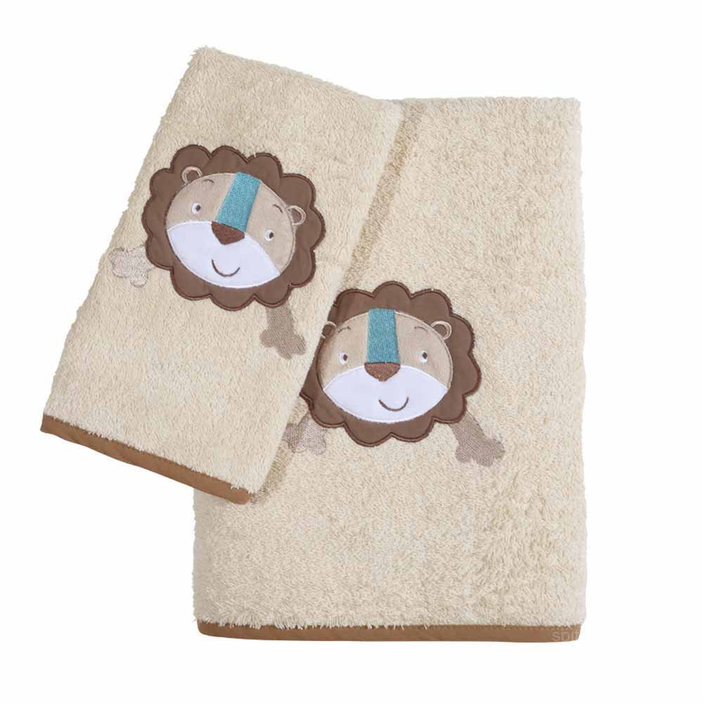 Βρεφικές Πετσέτες (Σετ 2τμχ) Das Home Smile 6514