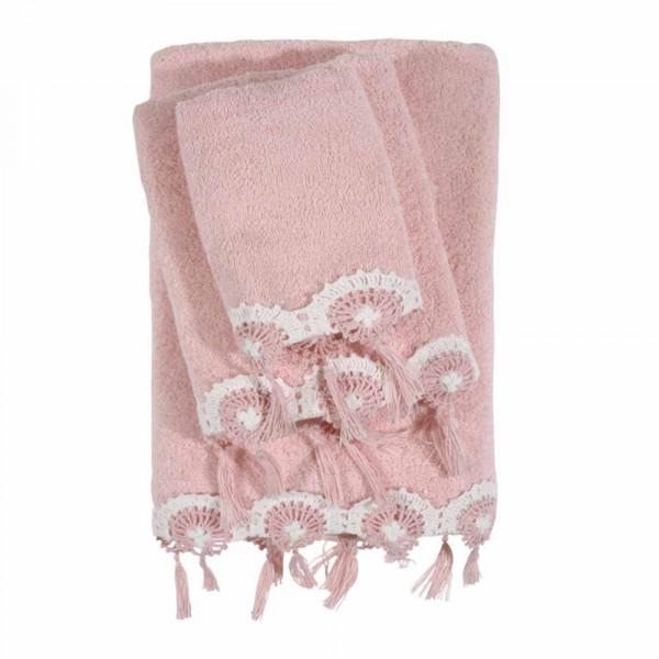 Πετσέτες Μπάνιου (Σετ 3τμχ) Das Home Daily 378