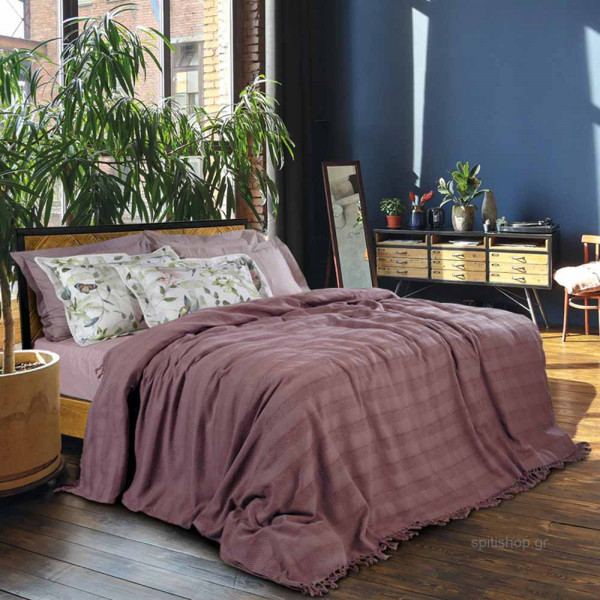 Κουβερτόριο Υπέρδιπλο Das Home Blanket Line Jacquard 0422