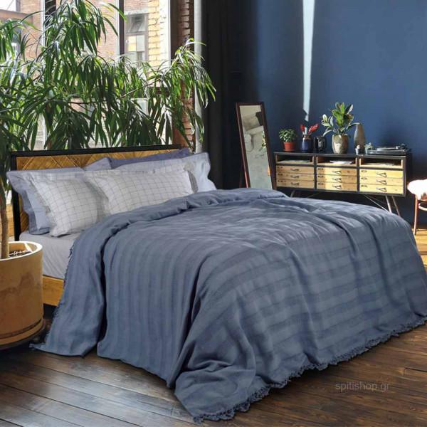 Κουβερτόριο Υπέρδιπλο Das Home Blanket Line Jacquard 0423