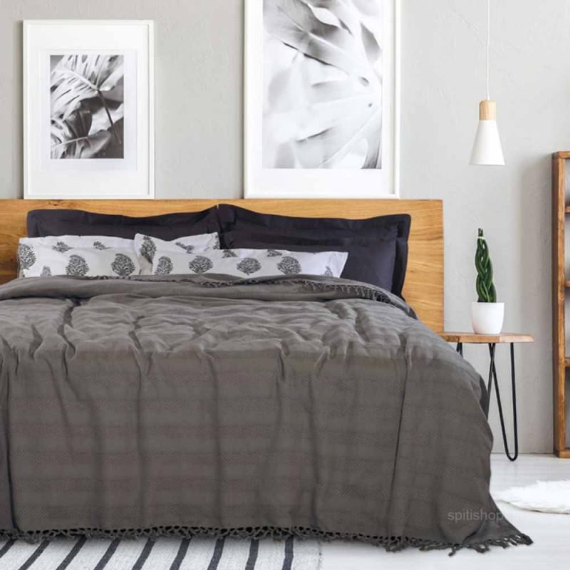 Κουβερτόριο Υπέρδιπλο Das Home Blanket Line Jacquard 0425