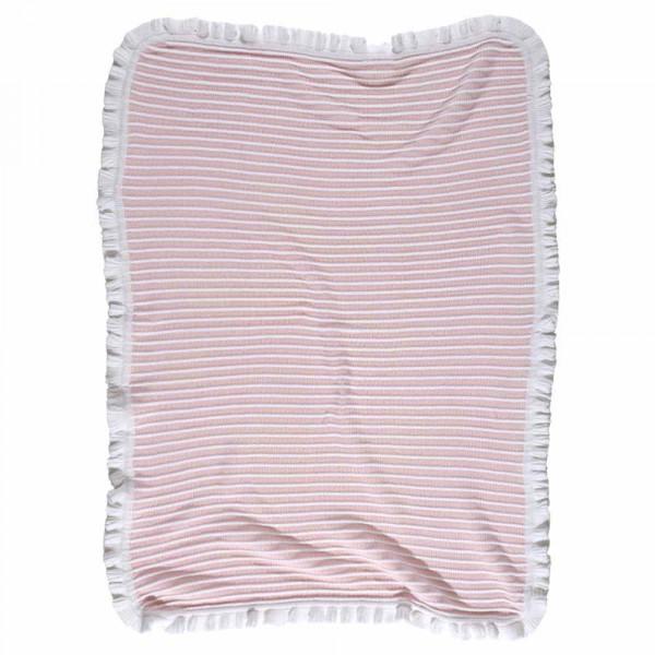 Κουβέρτα Πλεκτή Αγκαλιάς Das Home Relax Line 6516 Pink