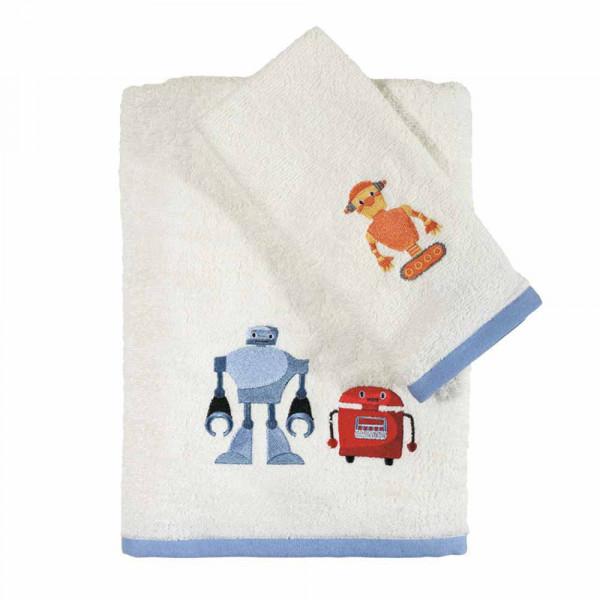 Παιδικές Πετσέτες (Σετ 2τμχ) Das Home Fun Embroidery 6527
