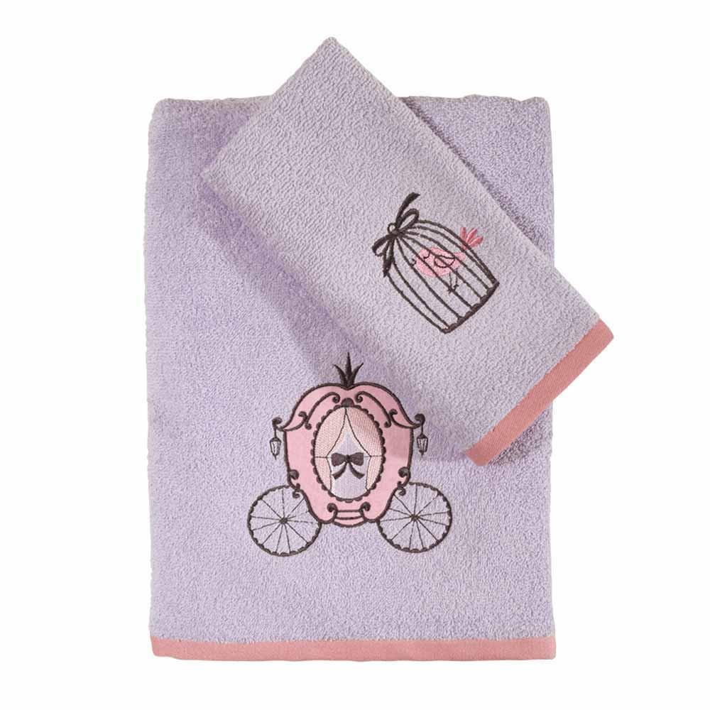 Βρεφικές Πετσέτες (Σετ 2τμχ) Das Home Fun Embroidery 6528