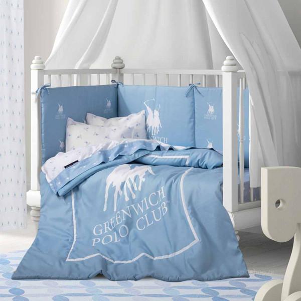 Πάπλωμα Κούνιας Polo Club Essential Baby 2911