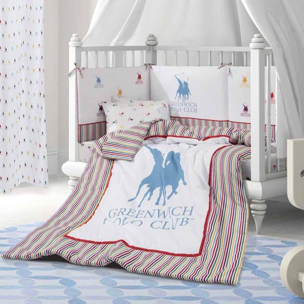 Πάπλωμα Κούνιας Polo Club Essential Baby 2914