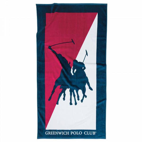 Πετσέτα Θαλάσσης Polo Club Essential Beach 2858