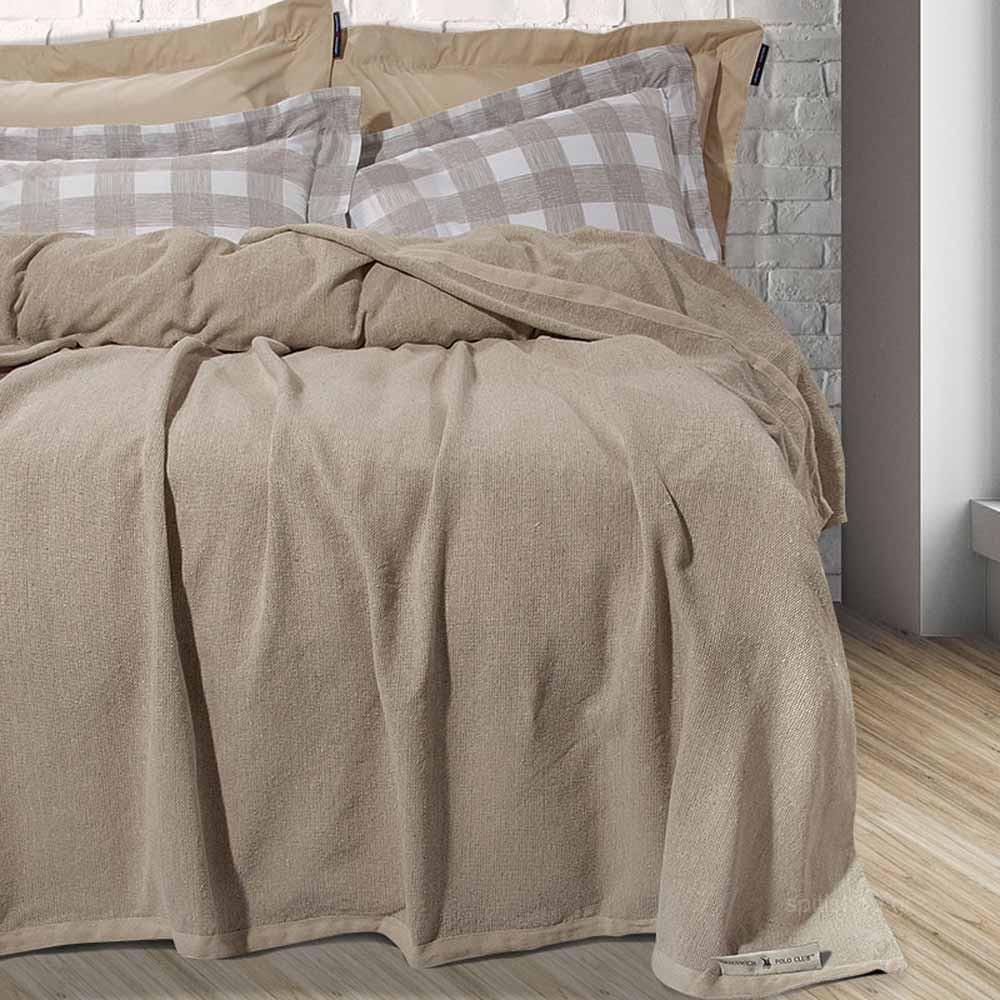 Κουβερτόριο King Size Polo Club Essential Blanket 2439