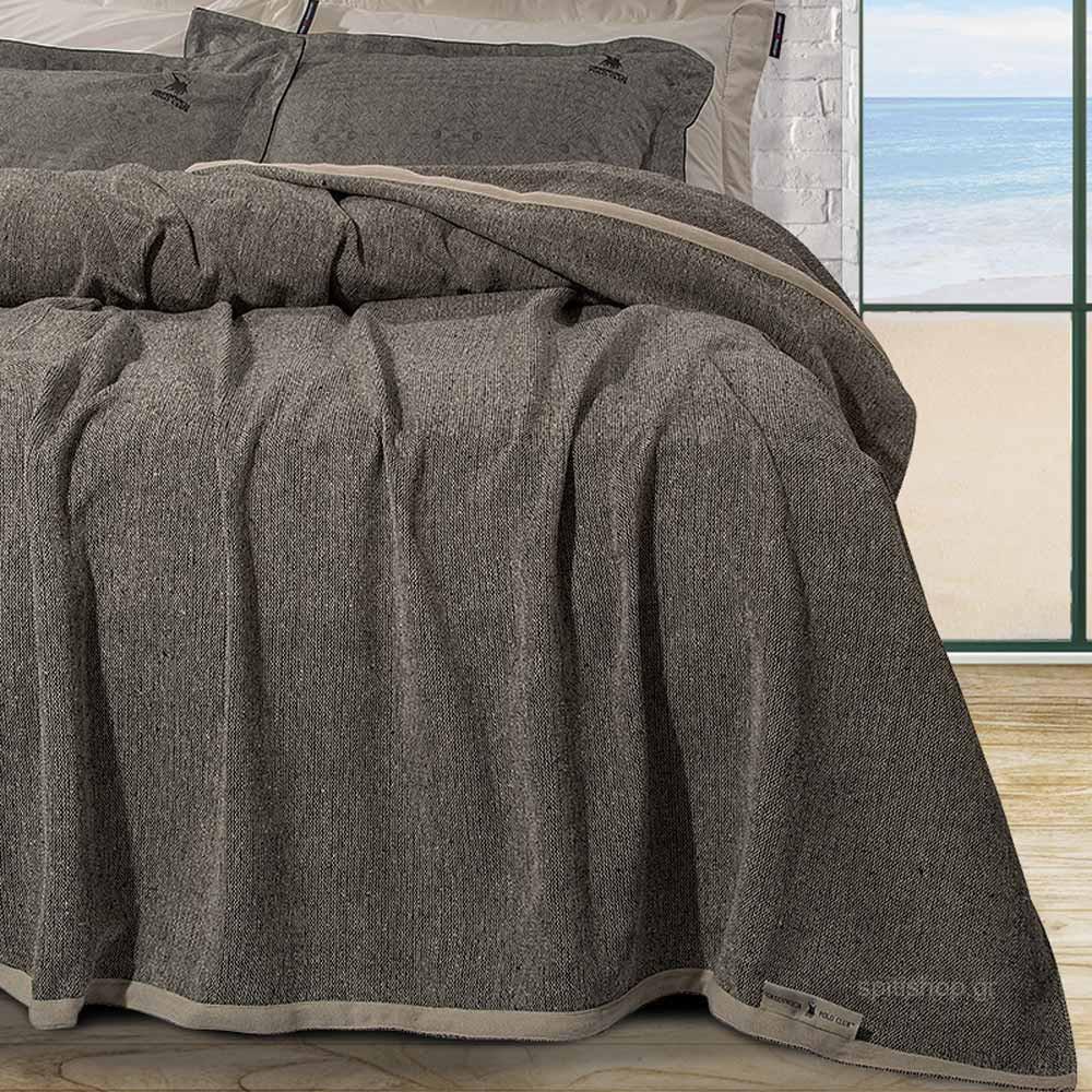 Κουβερτόριο King Size Polo Club Essential Blanket 2441