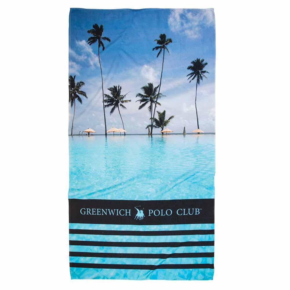 Πετσέτα Θαλάσσης Polo Club Essential Beach 2861