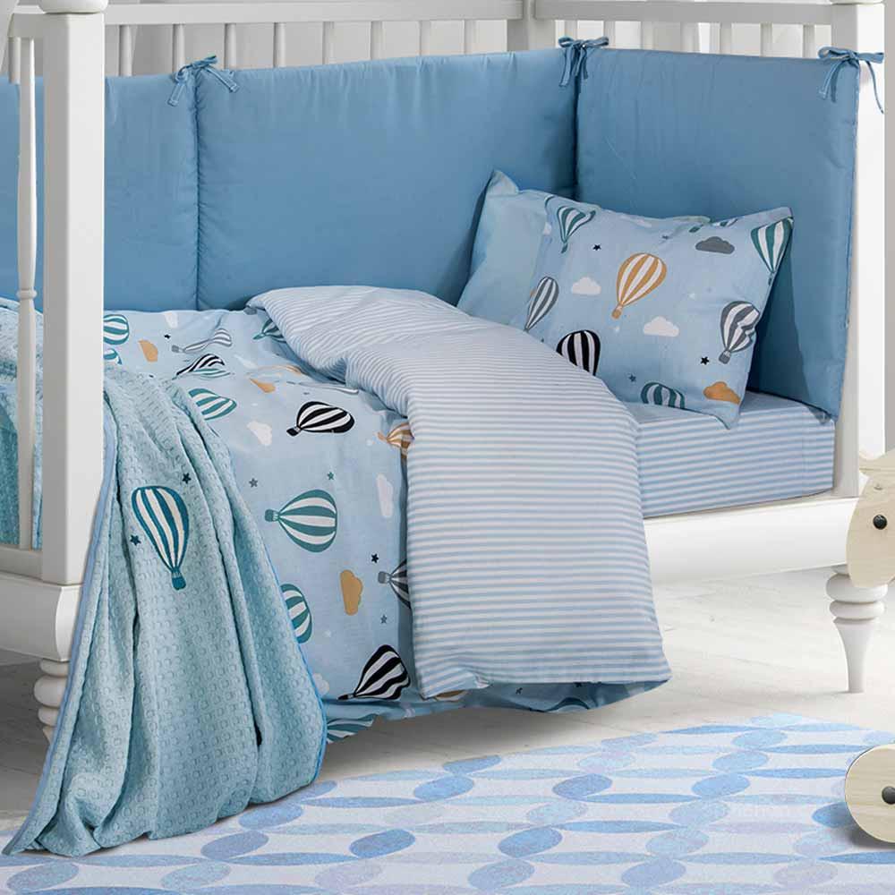 Κουβέρτα Πικέ Κούνιας Polo Club Essential Baby 2907